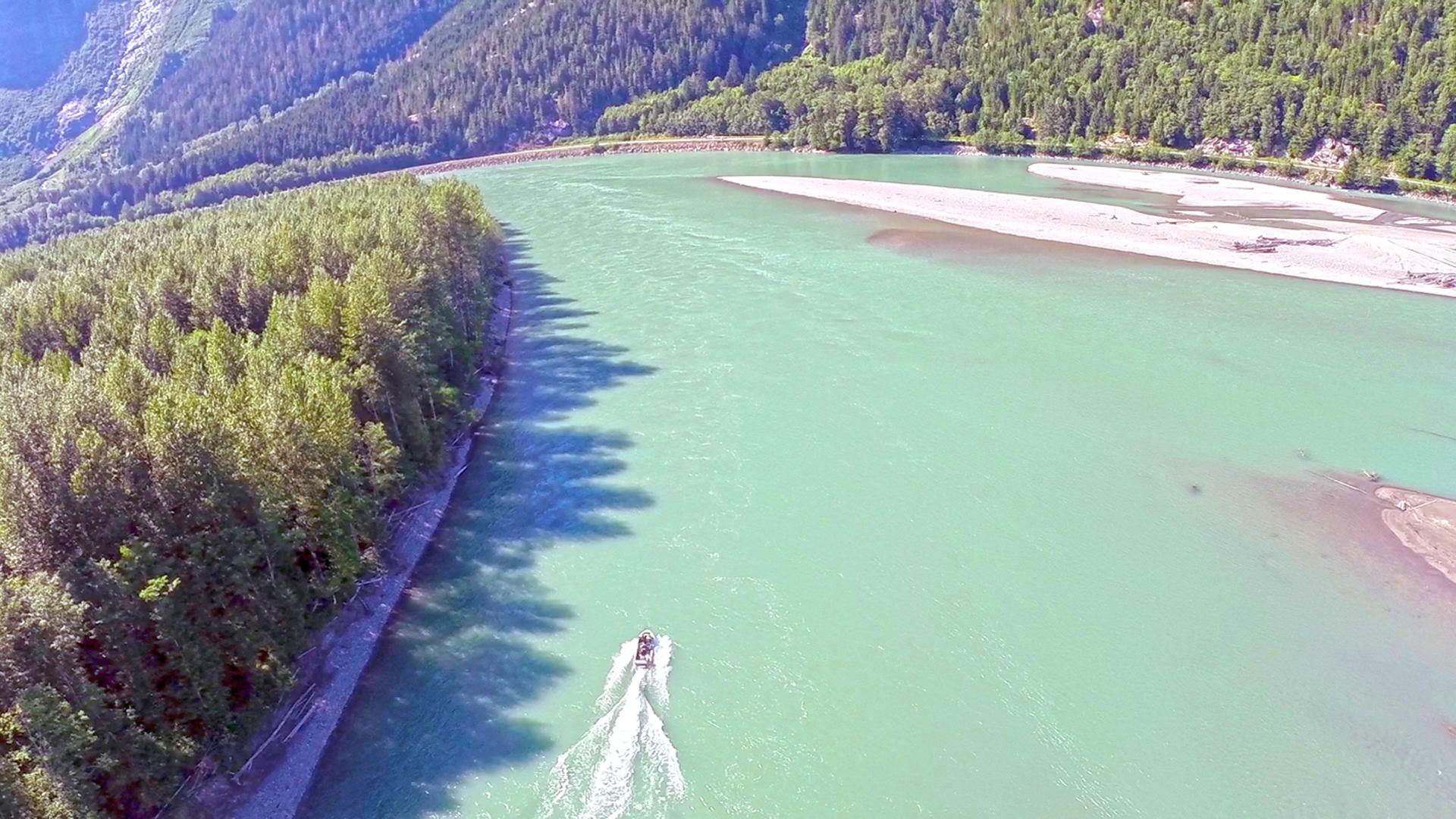 Skeena River Jet Boating