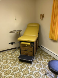 Patient Room Kitsault Hospital