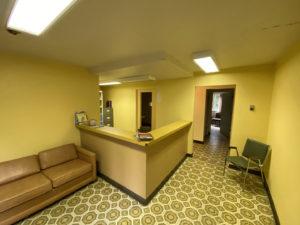 Reception Area Kitsault Hospital