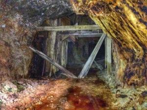 Inside Hidden Creek Mine