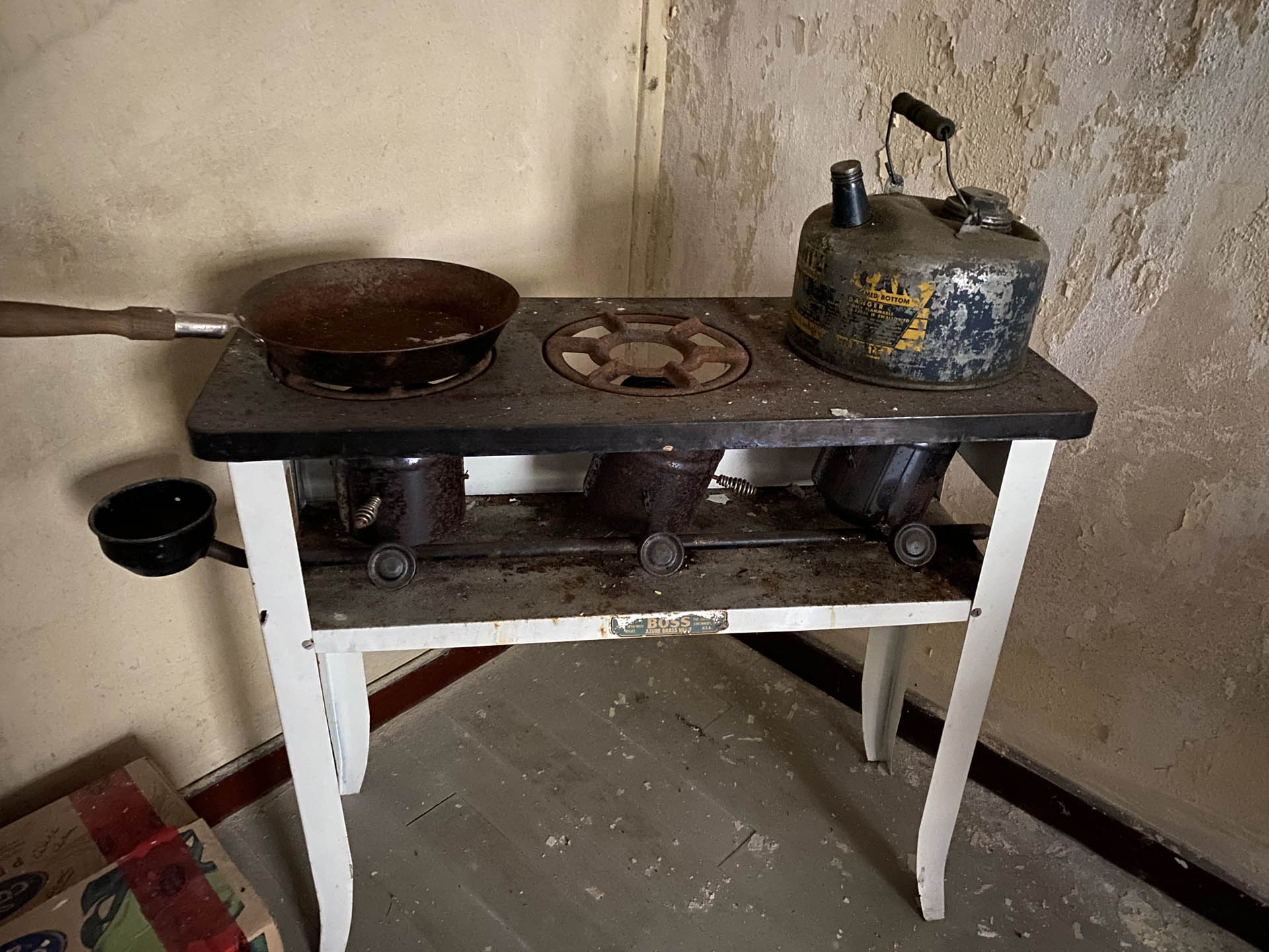 Old Cooking Stove